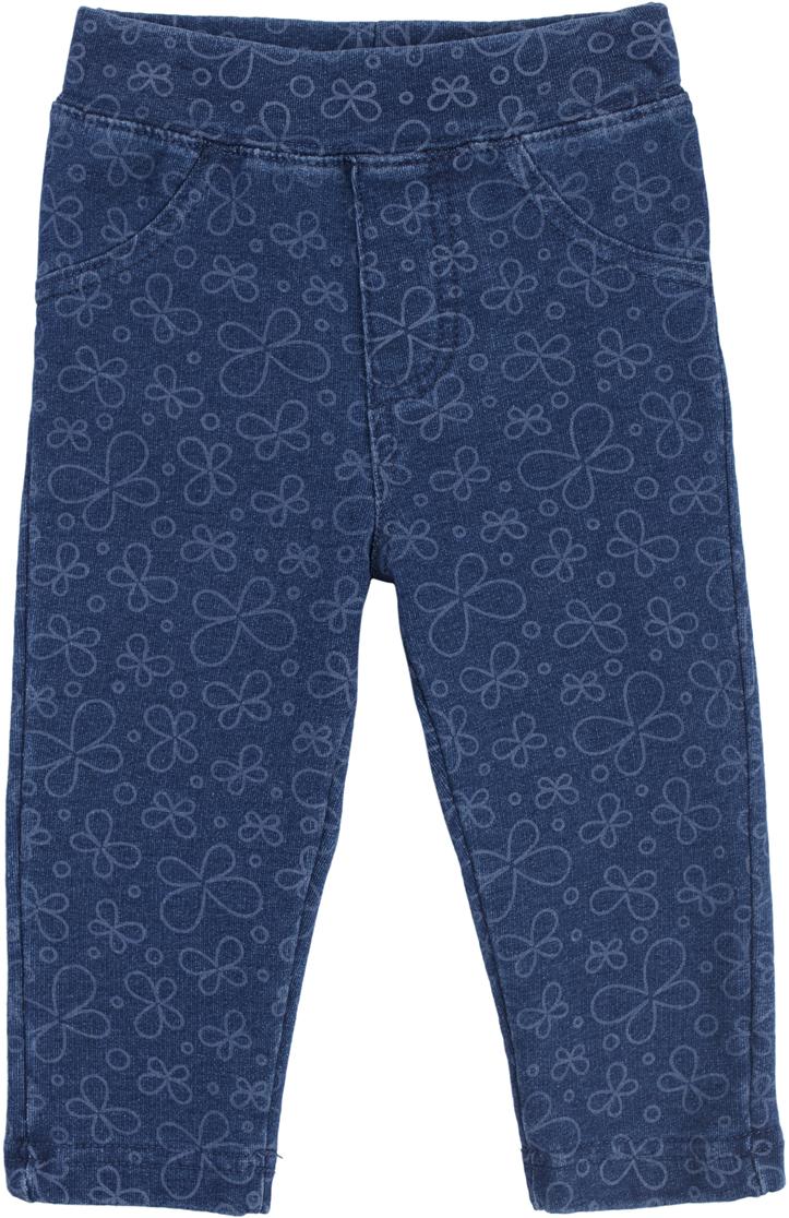 Леггинсы для девочки PlayToday, цвет: голубой. 188857. Размер 74188857