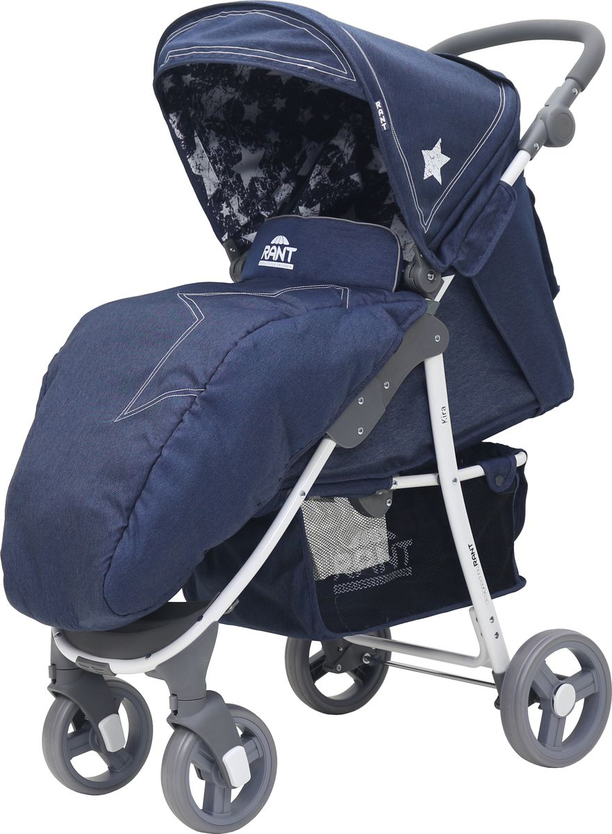 Rant Коляска прогулочная Kira Plus Jeans цвет синий rant коляска прогулочная largo jeans цвет черный