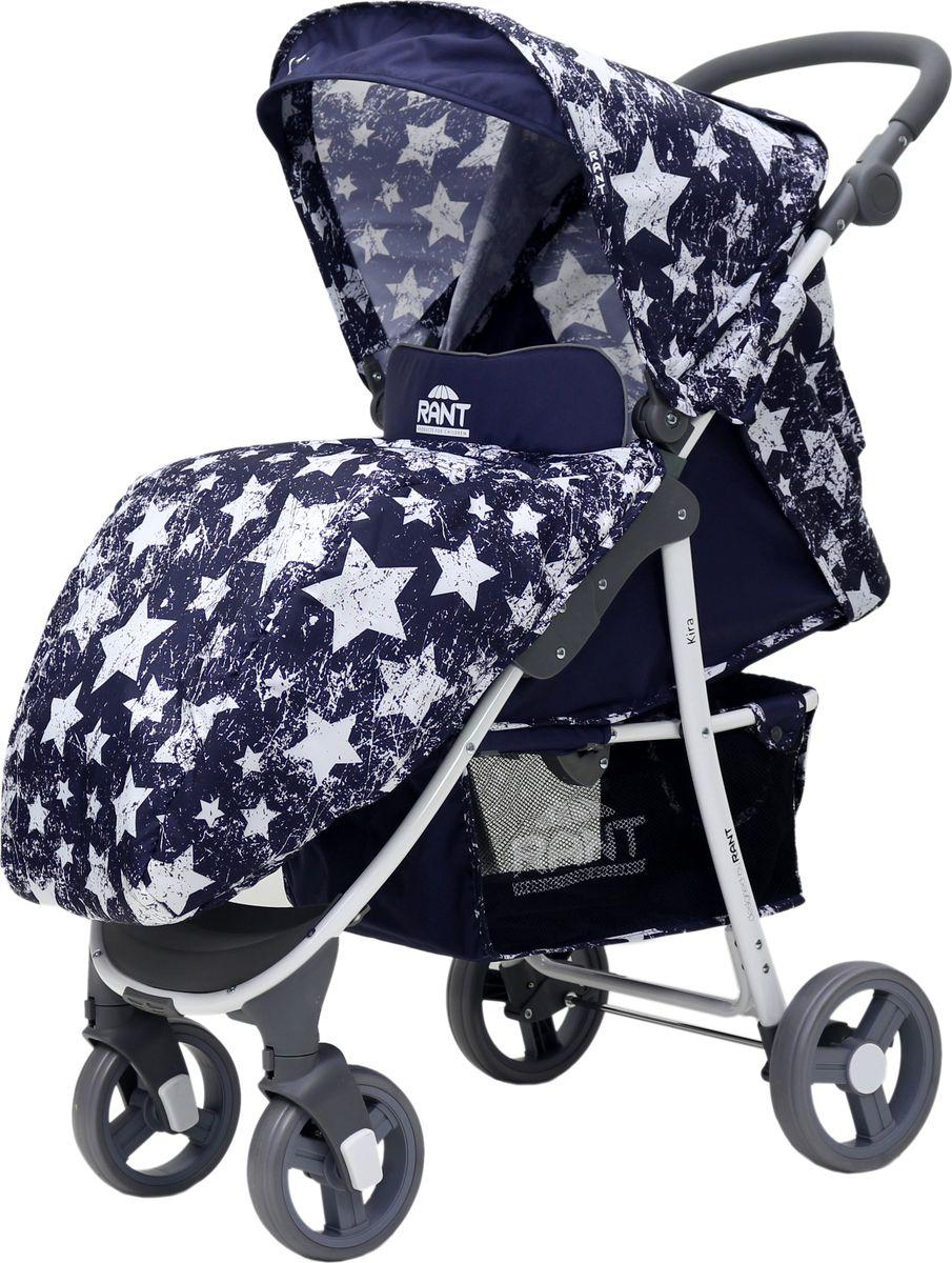 Rant Коляска прогулочная Kira Plus Stars цвет синий