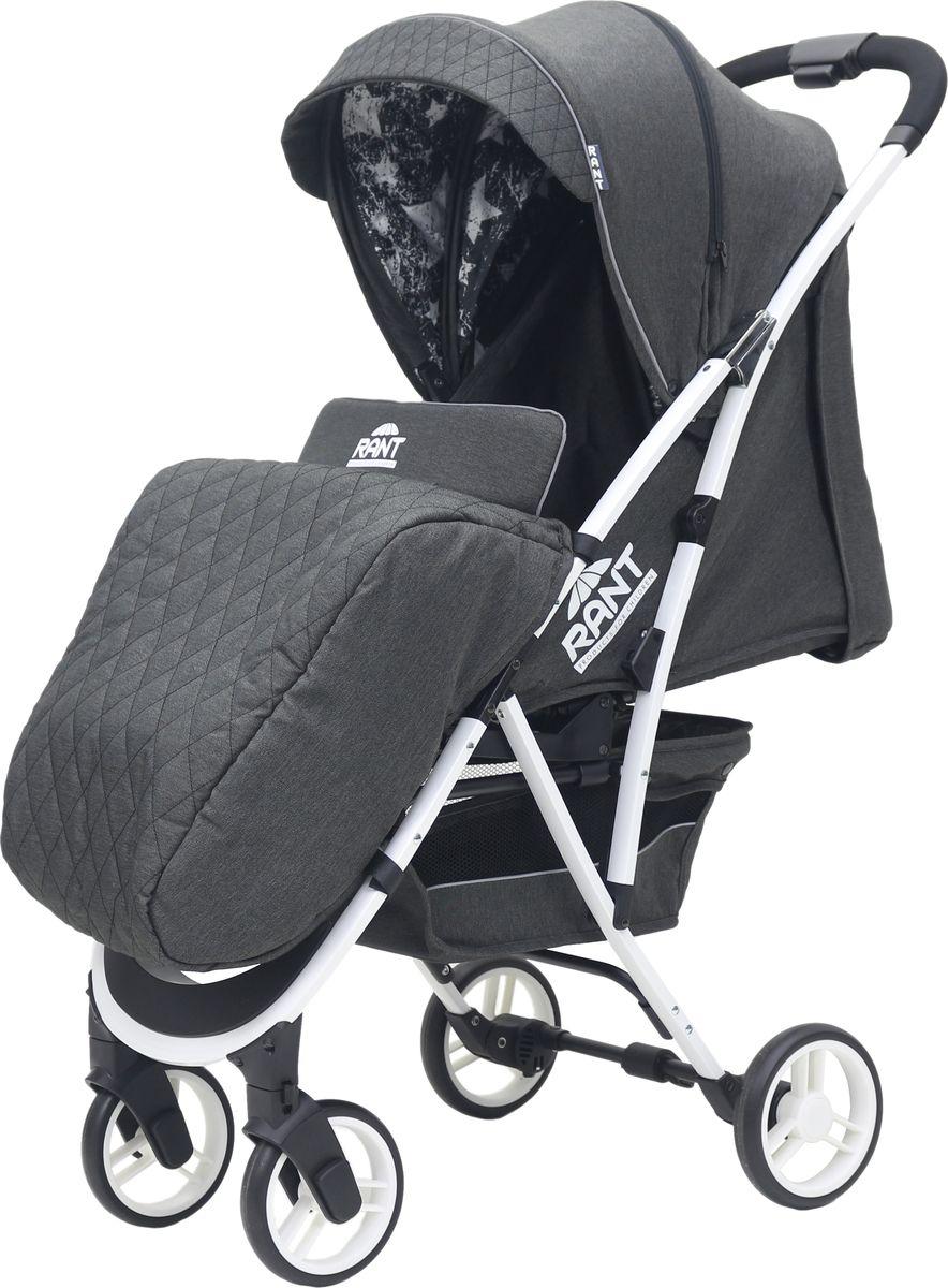 Rant Коляска прогулочная Largo Jeans цвет черный прогулочные коляски рант largo