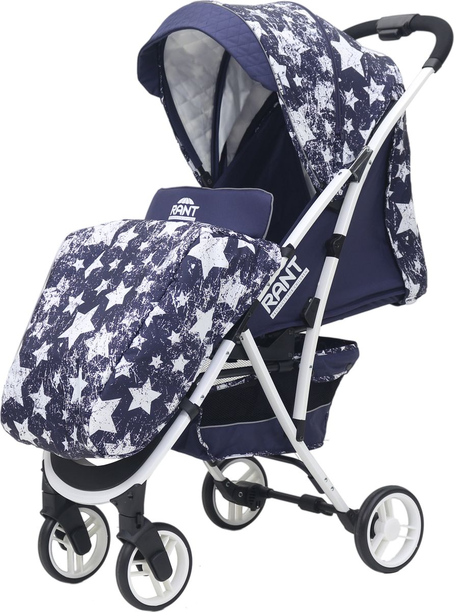 Rant Коляска прогулочная Largo Stars цвет синий прогулочные коляски рант largo