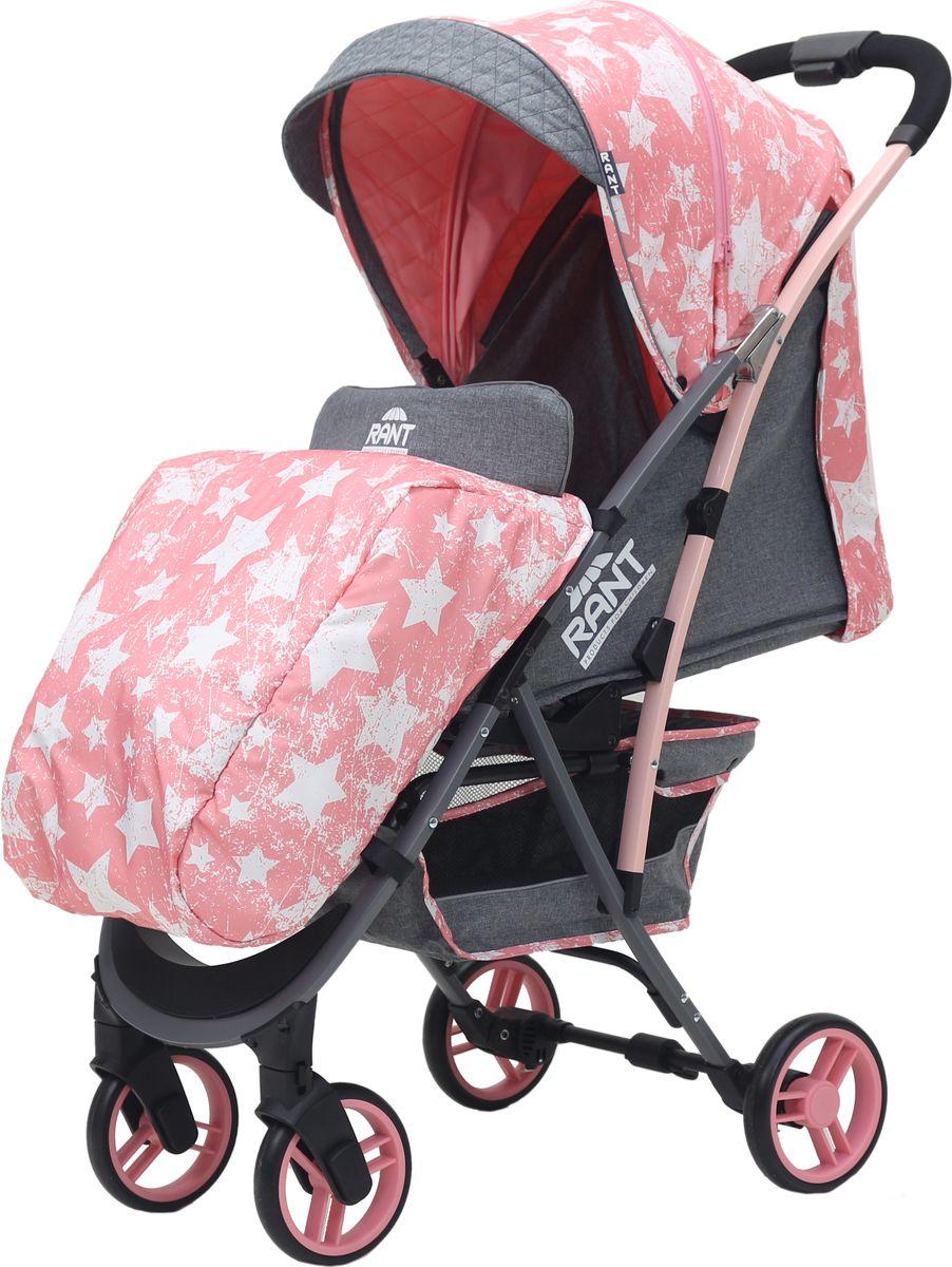 Rant Коляска прогулочная Largo Stars цвет розовый