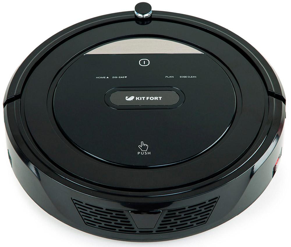 Kitfort KT-516, Black робот-пылесос