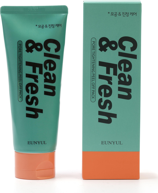 Eunyul Маска-пленка сужающая поры, 120 мл404054Новая серия масок-пленок от Eunyul помогает сделать вашу кожу лучше и поддерживает ее в прекрасном состоянии. Маска-пленка для сужения пор после применения оставляет кожу чистой и увлажненной, удаляет загрязнения и мертвые клетки. Маска содержит экстракт мяты и лайма, которые эффективно сужают поры и освежают кожу. Маска имеет освежающий эффект и хорошо очищает поры.