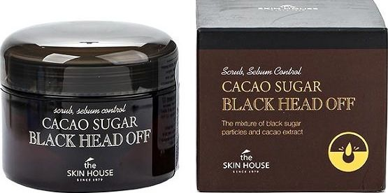 The Skin House Скраб против черных точек с коричневым сахаром и какао, 50 мл823194Частички коричневого сахара и какао в скрабе успокаивают кожу и очищают ее от комедонов, загрязнений и мертвых клеток.