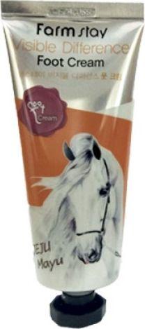 FarmStay Крем для ног с лошадиным маслом, 100 мл