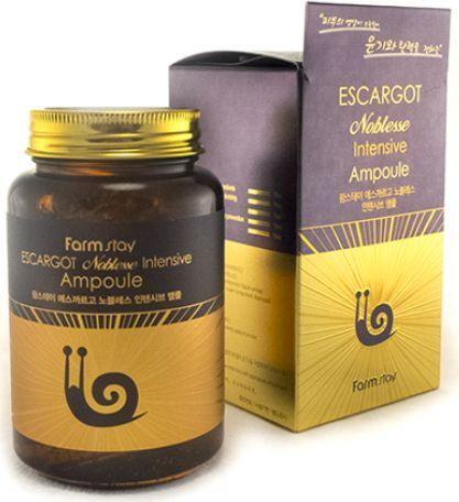 FarmStay Многофункциональное ампульное средство с экстрактом улитки, 250 мл9772778Ампульная многофункциональная сыворотка с муцином улитки обеспечивает регенерацию, борьбу со старением, защиту, увлажнение и питание. Не только удаляет морщинки, но и повышает упругость и эластичность кожи. Выравнивает тон кожи, осветляет пигментацию и постакне. Подходит даже для чувствительной кожи, защищает ее от раздражений. Три-в-одном: тоник-эмульсия-сыворотка. Текстура легкая и хорошо проникает в кожу, обеспечивая питательными веществами глубокие слои.