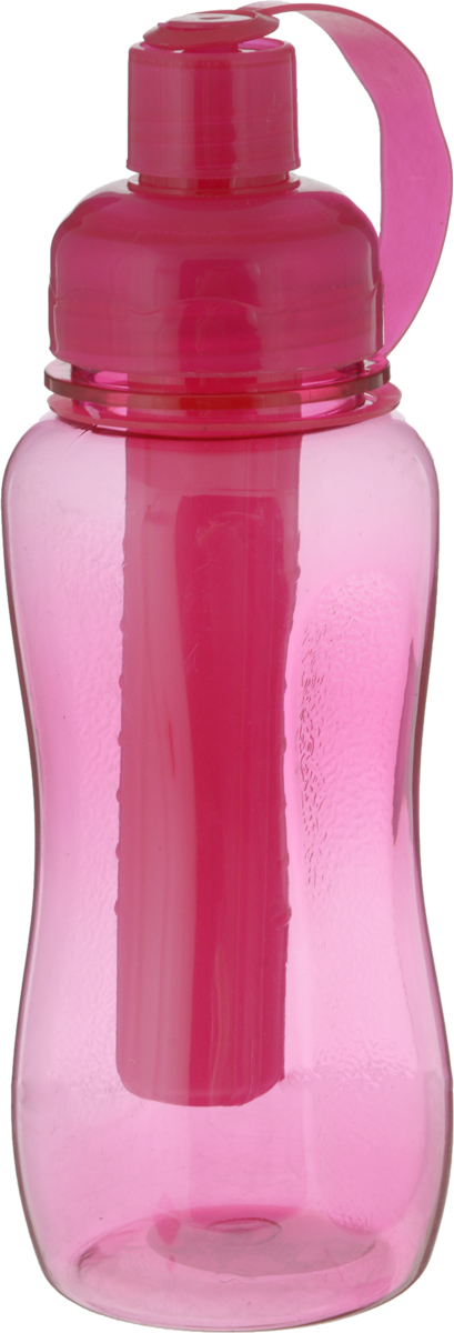 Бутылка Mayer & Boch, с емкостью для льда, цвет: малиновый, 500 мл. 27092