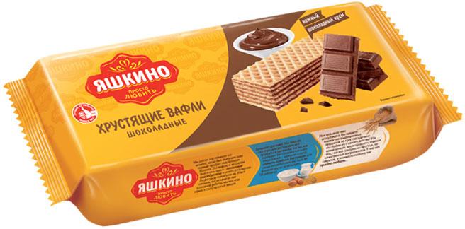 Яшкино вафли шоколадные, 300 г flaronis маримба вафли бисквитные 200 г