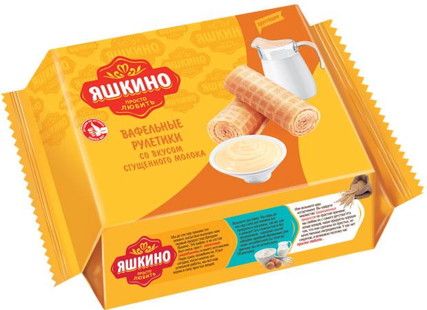 Яшкино рулетики вафельные со вкусом сгущеного молока, 160 г кукуруза coruma со вкусом двойного сыра 50г
