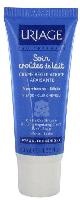 Uriage Крем от молочных корочек Bebe, 40 мл - Для детей