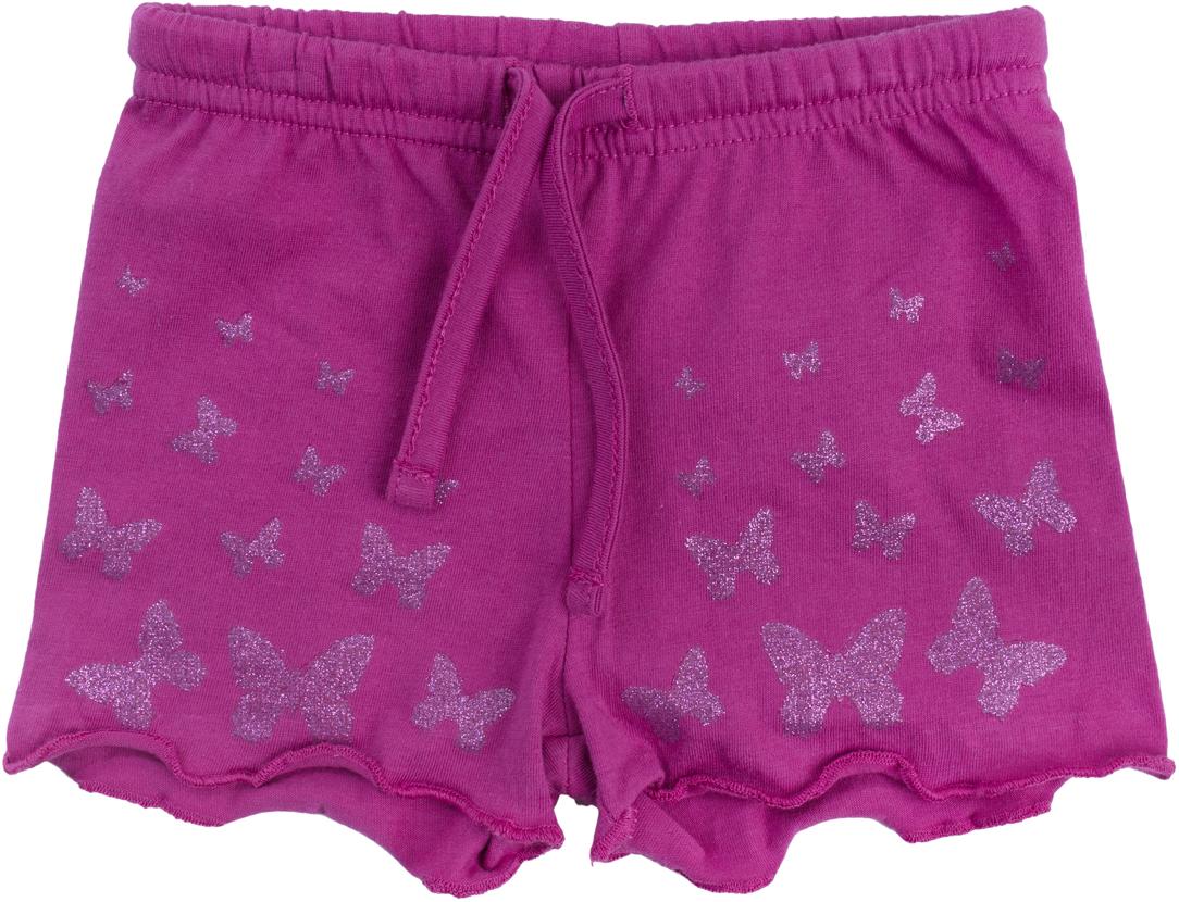 Шорты для девочки PlayToday, цвет: розовый. 188859. Размер 68188859