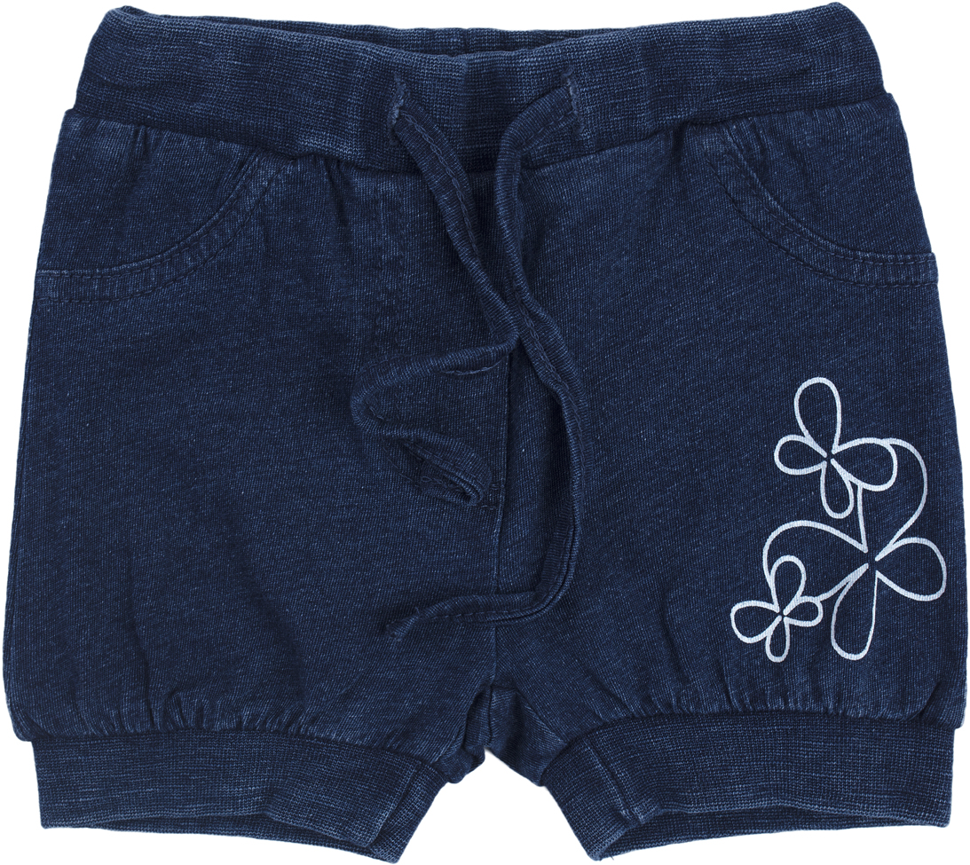 Шорты для девочки PlayToday, цвет: голубой. 188858. Размер 68188858