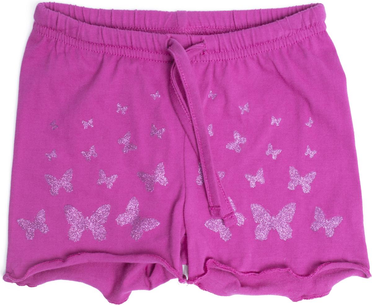 Шорты для девочки PlayToday, цвет: розовый. 188063. Размер 86