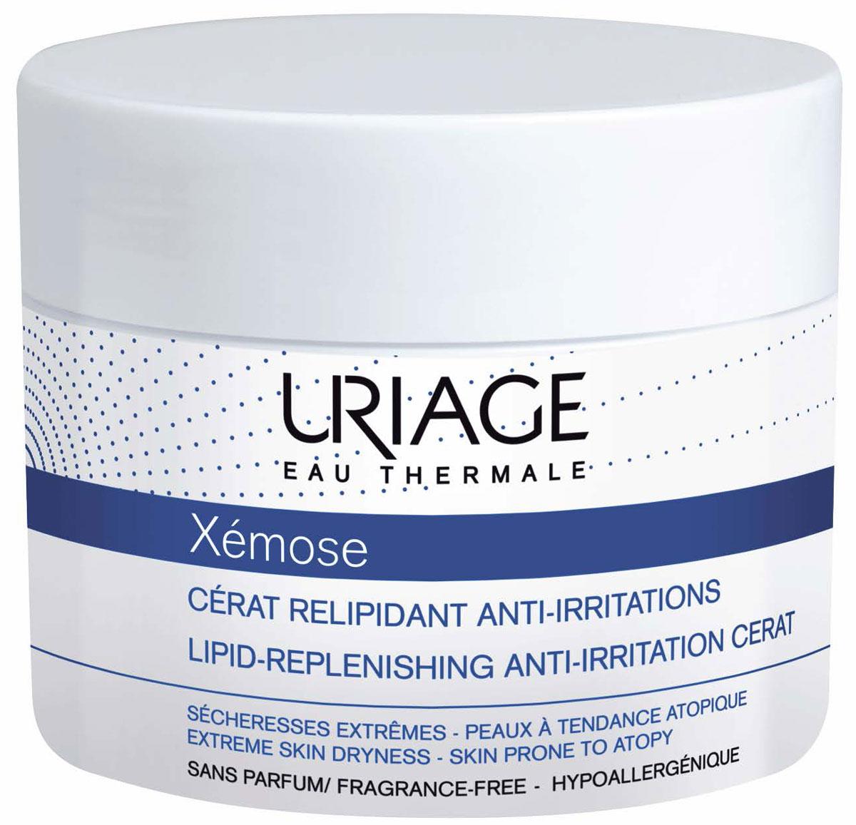 Uriage Церат крем липидовосстанавливающий против раздражений Xemose, 200 млU04834Крем предназначен для очень сухой, склонной к атопии кожи. Он питает и защищает кожу, успокаивает зуд , предотвращая расчёсывания. Ксемоз крем смягчает кожу, надолго возвращая её в комфортное состояние. Входящие в состав 3 запатентованных инновационных комплекса и термальная вода Урьяж обеспечивают тройное действие: -Поддерживает баланс микрофлоры на поверхности кожи ( Комплекс TLR-2 regul и термальная вода Урьяж) -Восстанавливает и укрепляет кожный барьер ( комплекс Церастерол – 2 F и термальная вода Урьяж) -Ускоряет естественное разрешение воспалительного процесса (комплексы Хроноксин и TLR-2 Regul)Для новорождённых, детей, взрослых. Подходит для лица и тела.