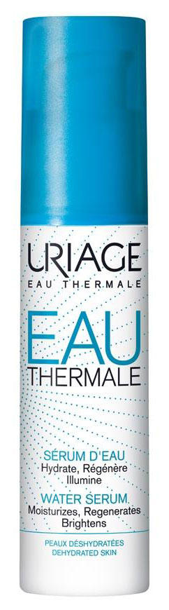 Uriage Сыворотка увлажняющая, 30 млU05022Увлажняющая сыворотка Eau thermale усиливает увлажняющий эффект от крема. Благодаря нежной тающей текстуре сыворотка легко наносится и восстанавливает оптимальный уровень увлажненности на 24 ч. Увлажняет, питает и придает коже сияние. Инновационная концепция H20 patch дает интенсивный и длительный увлажняющий эффект.