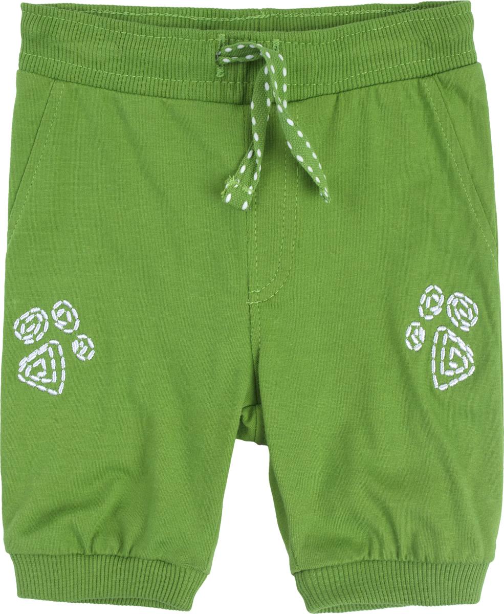Шорты для мальчика PlayToday, цвет: зеленый. 187859. Размер 74 брюки для девочек playtoday 148076 р 74 80 см цвет зеленый