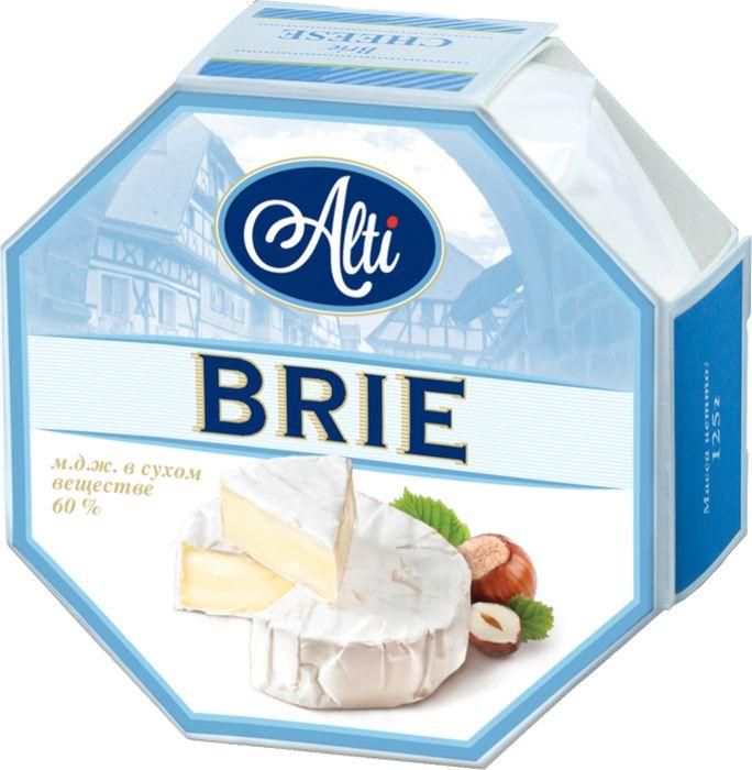 Alti Сыр Бри 60%, 125 г alti сыр бри 60% 125 г