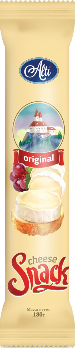 Alti Сыр Бри Cheese Snack 60%, 180 г alti сыр бри 60% 125 г