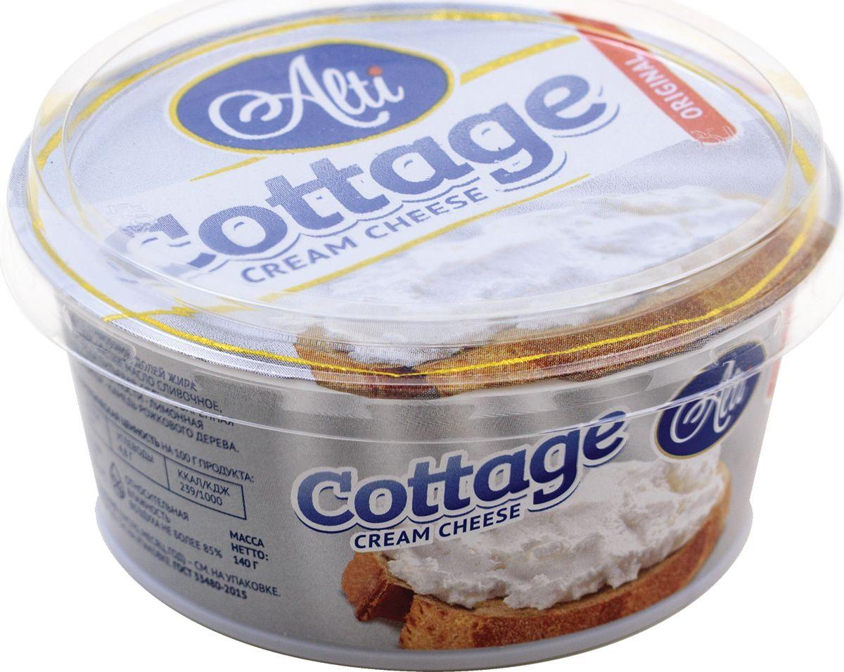 Alti Сыр Cottage Cream Cheese 60%, 140 г даниссимо продукт творожный пломбир 5 4% 130 г