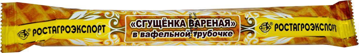 Ростагроэкспорт Варенка в вафельной трубочке, 70 г ростагроэкспорт желе ананас 125 г