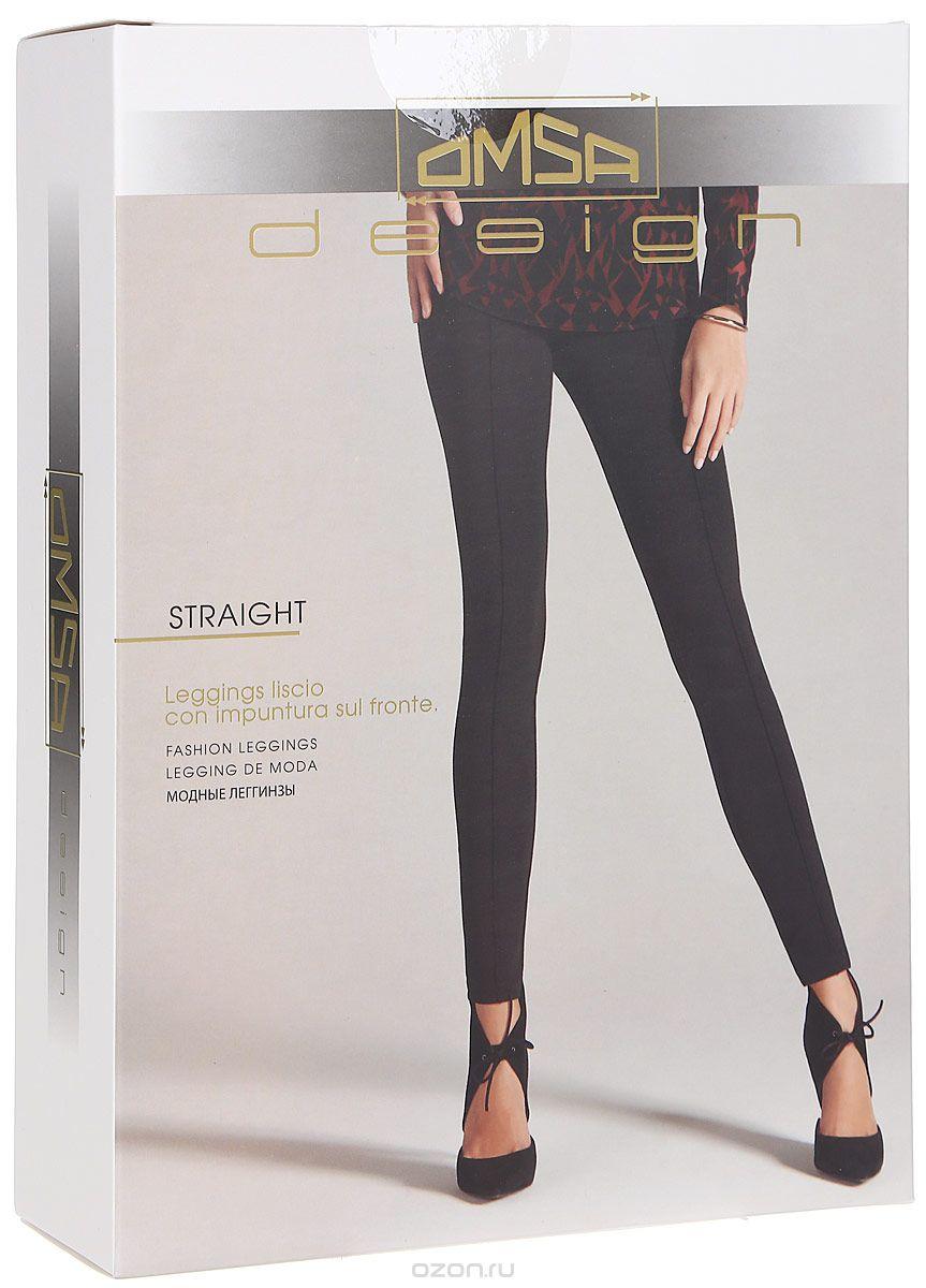 Леггинсы женские Filodoro Classic Straight, цвет: серый. SNL-343573. Размер S (44)SNL-343574Модные плотные леггинсы от Omsa брючного типа с нашивками на лицевой стороне.