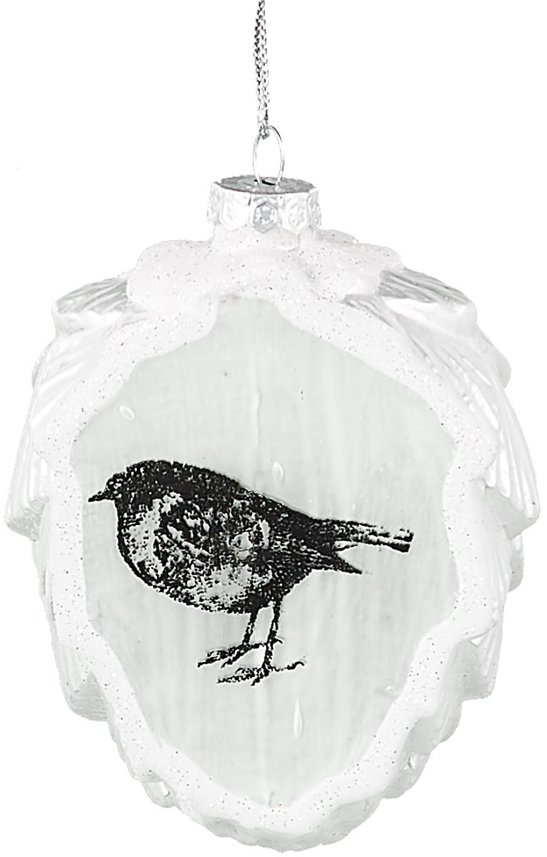Украшение новогоднее подвесное Winter Wings Шишка. Птица, высота 9 см украшение новогоднее подвесное winter wings me to you мишка тедди высота 11 см