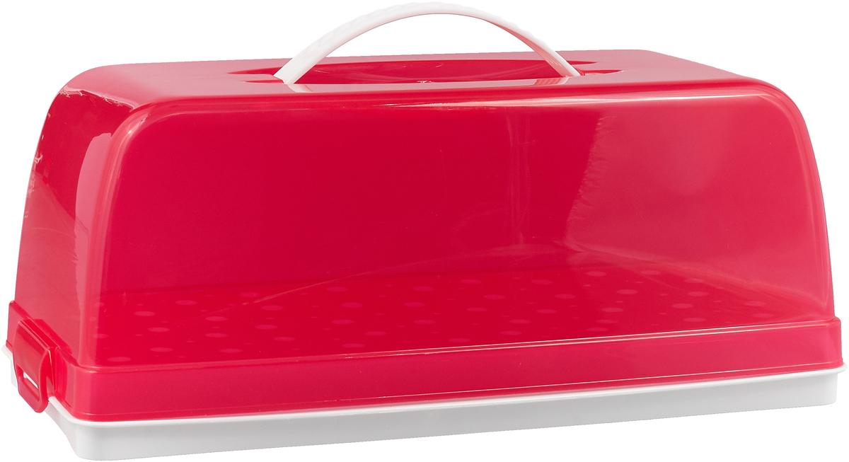 Хлебница Альтернатива Горошек, цвет: белый, красный, 35 см х 15,5 см х 14 смM4074Хлебница Альтернатива Горошек, изготовленная из двухцветного пластика, декорирована принтом в горошек. Вместительность, функциональность и стильный дизайн позволят изделию стать не только незаменимым аксессуаром на кухне, но и предметом украшения интерьера. В ней хлеб всегда останется свежим и вкусным.