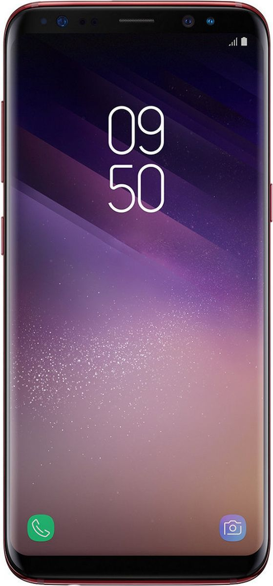 Zakazat.ru Смартфон Samsung Galaxy S8 SM-G950, Red