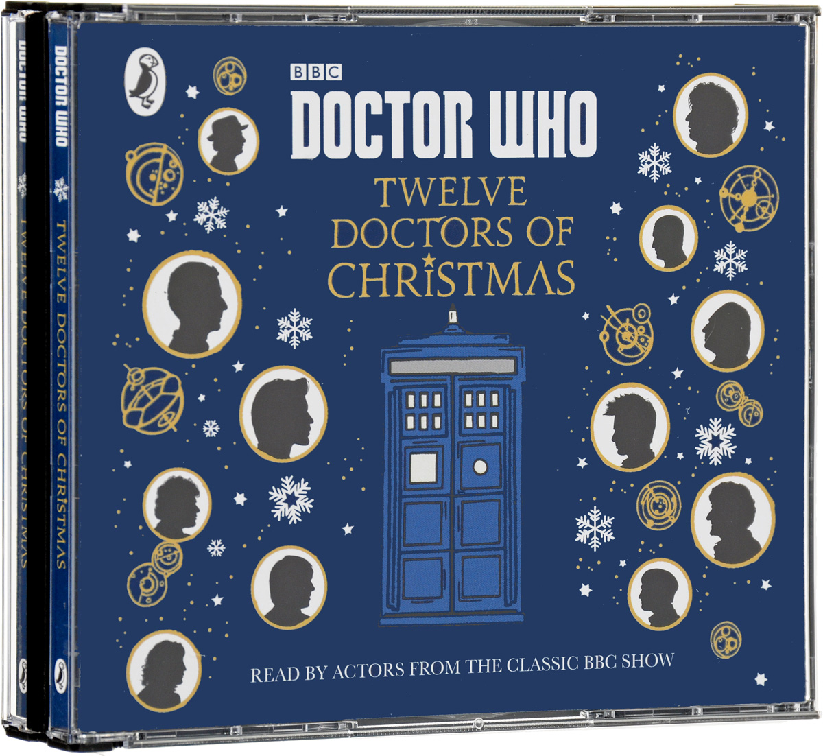 Doctor Who: Twelve Doctors of Christmas (аудиокнига CD) футболка рингер printio доктор кто doctor who