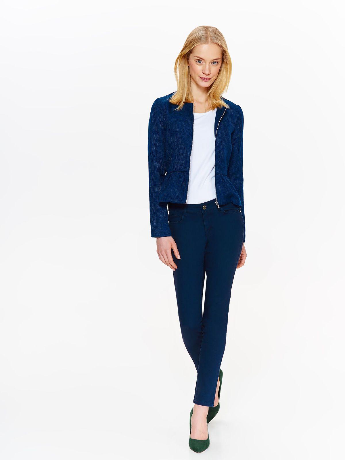 Жакет женский Top Secret, цвет: темно-синий. SZK0564GR. Размер 42 (50)SZK0564GR