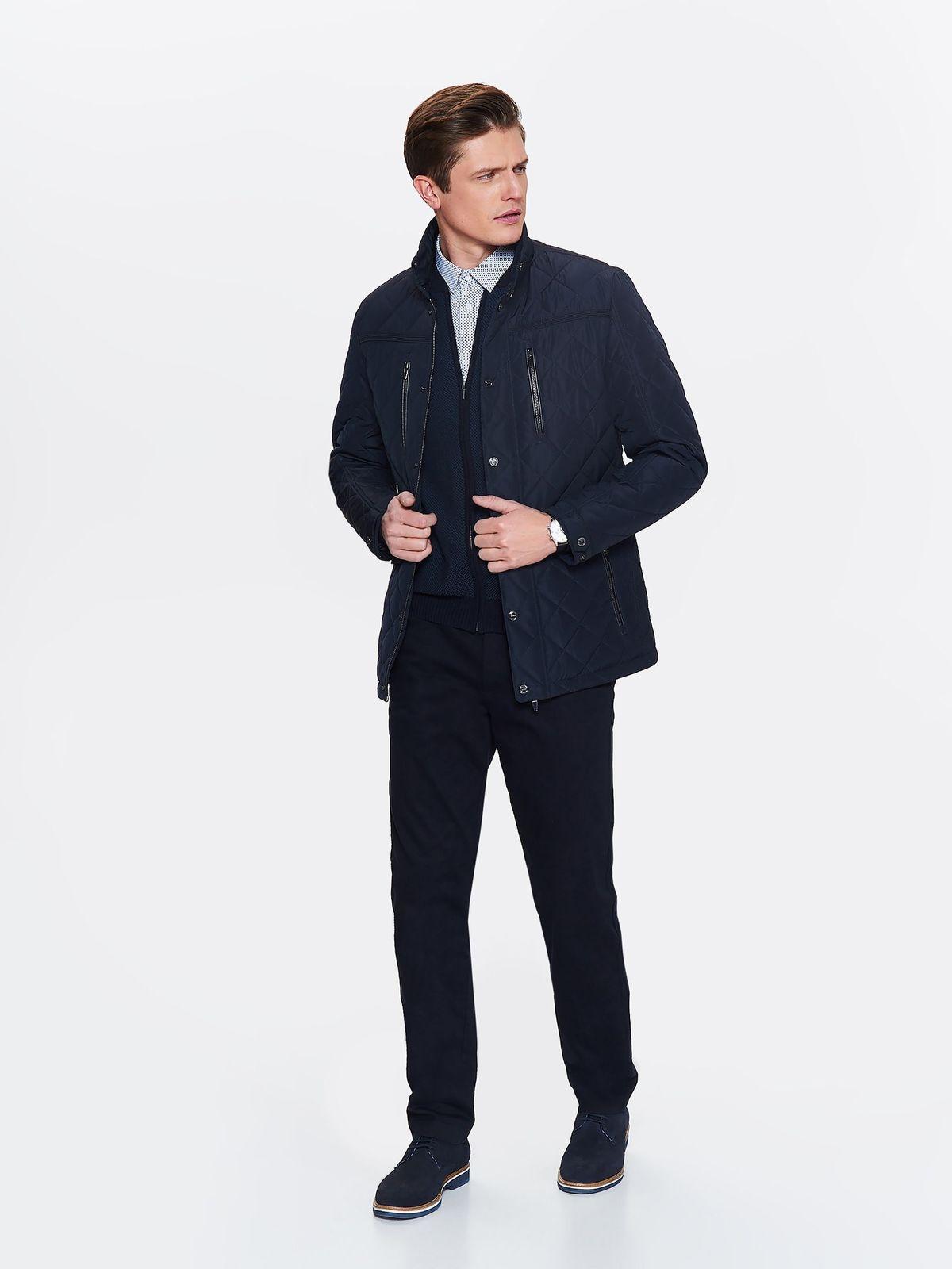 Куртка мужская Top Secret, цвет: темно-синий. SKU0850GR. Размер M (46)SKU0850GR