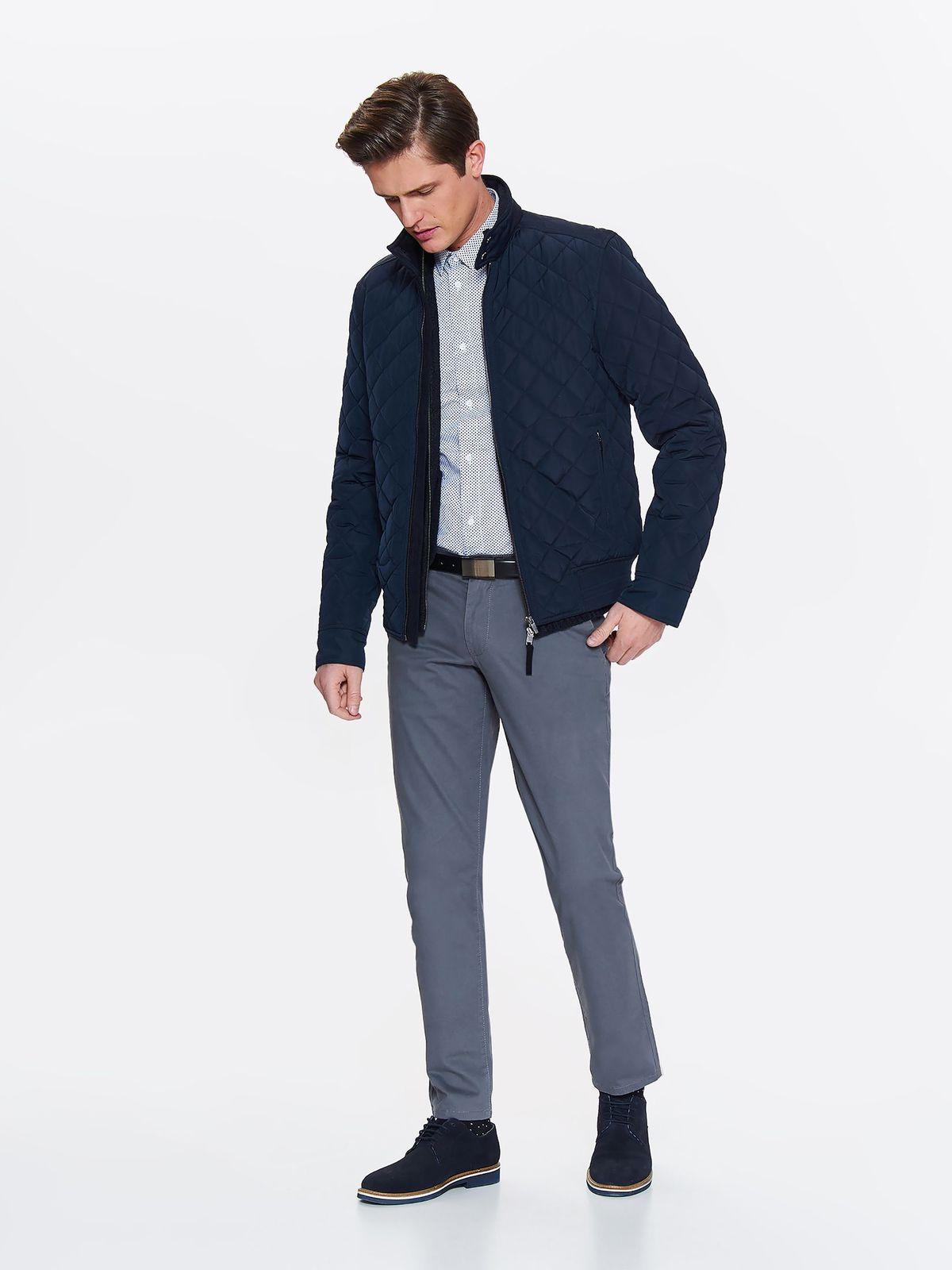 Куртка мужская Top Secret, цвет: темно-синий. SKU0853GR. Размер M (46)SKU0853GR