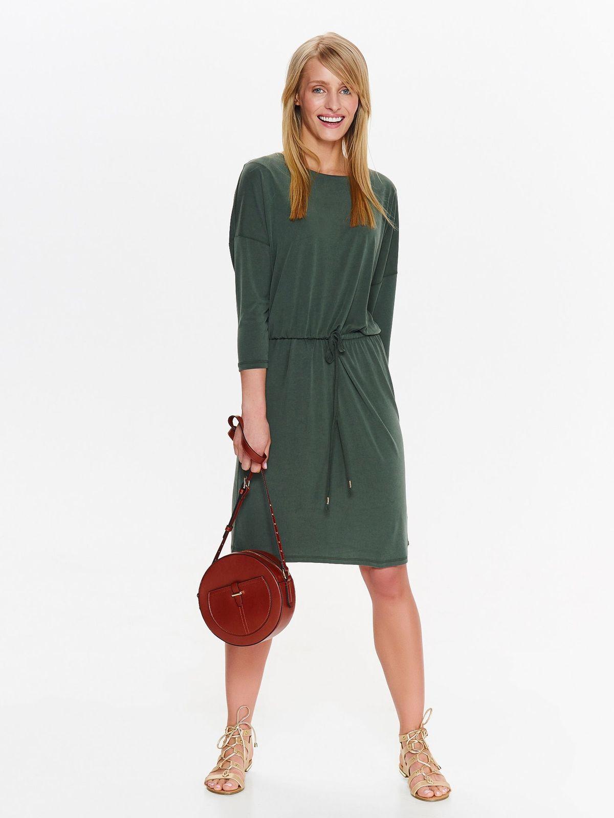 Платье женское Top Secret, цвет: зеленый. SSU2084ZI. Размер 40 (48)SSU2084ZI