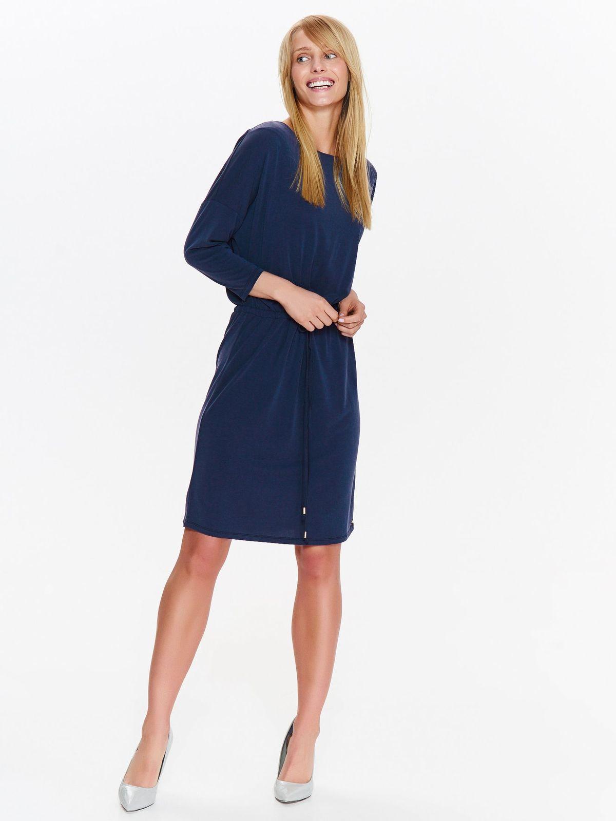 Платье женское Top Secret, цвет: темно-синий. SSU2085GR. Размер 42 (50)SSU2085GR