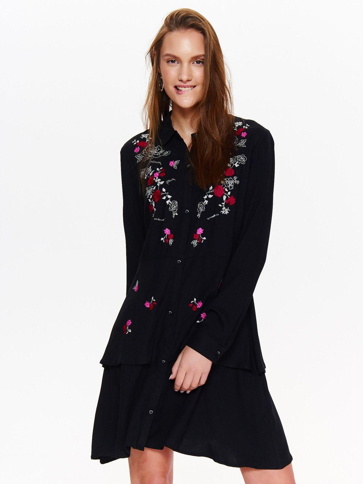 Платье женское Top Secret, цвет: черный. SSU2044CA. Размер 40 (48)SSU2044CA