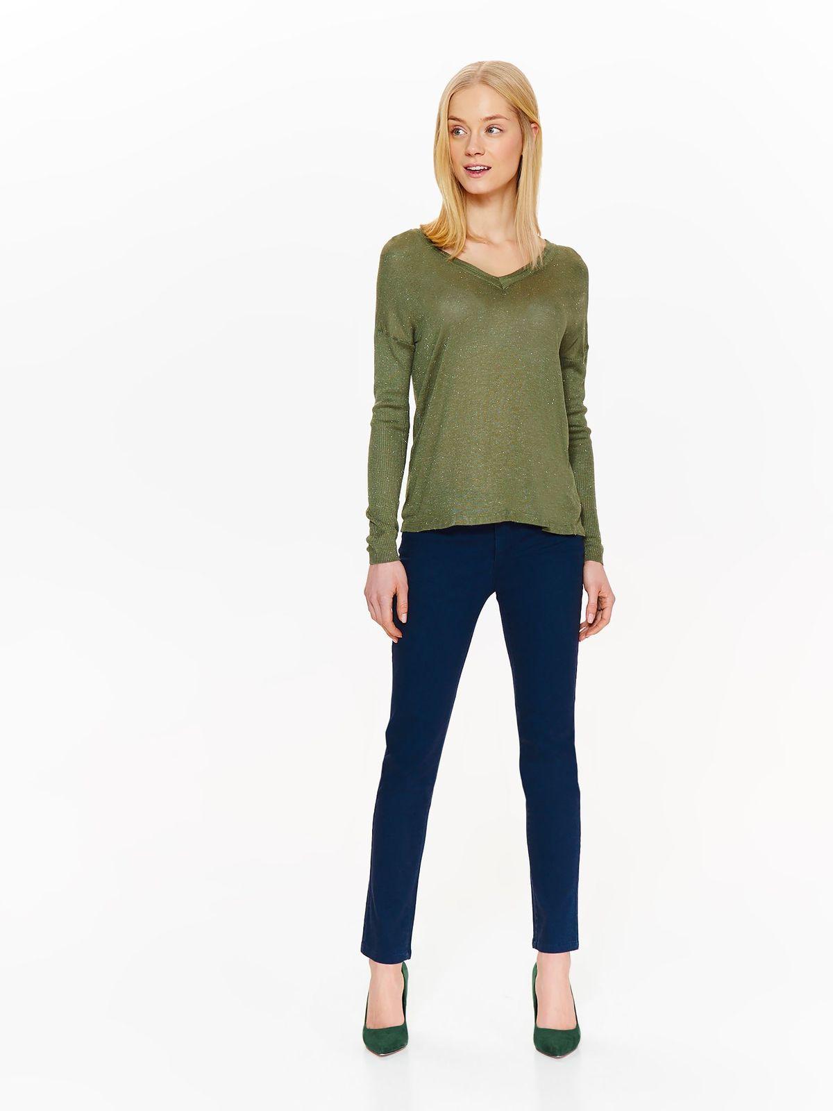 Свитер женский Top Secret, цвет: зеленый. SSW2311ZI. Размер 36 (44)SSW2311ZI