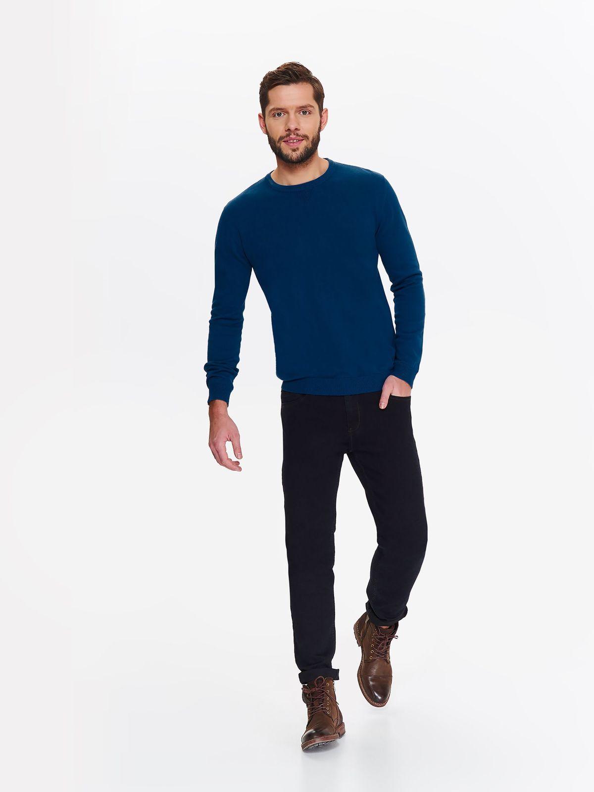 Свитер мужской Top Secret, цвет: синий. SSW2307NI. Размер XL (50)SSW2307NI
