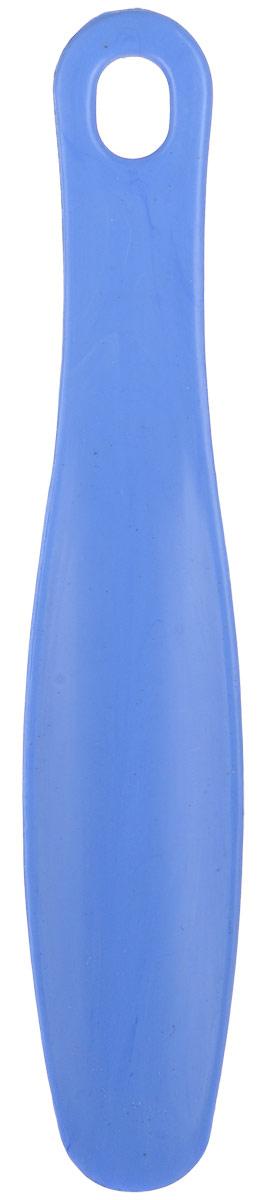 Ложка для обуви Эффектон, цвет: голубой, длина 22,5 см70_голубойЛожка для обуви Эффектон, изготовленная из прочного высококачественного пластика, обеспечивает комфорт при надевании обуви, предохраняя ее от деформации.