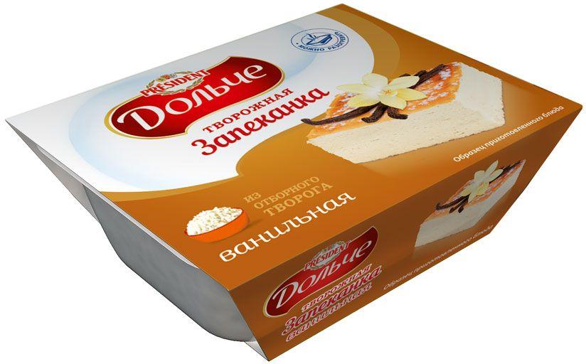 President Дольче Запеканка творожная ванильная 5,5%, 350 г фру фру жевательный мармелад кислые ремни яблоко 85 г