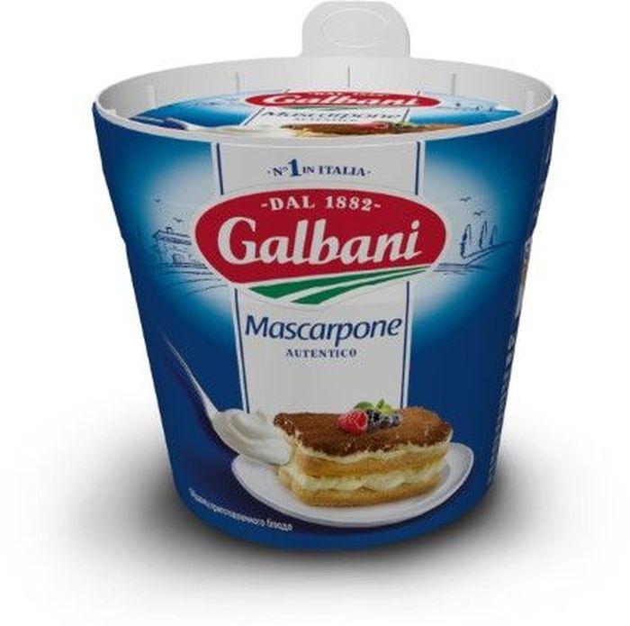 Galbani Сыр Маскарпоне 80%, 250 г galbani сыр маскарпоне 80% 250 г