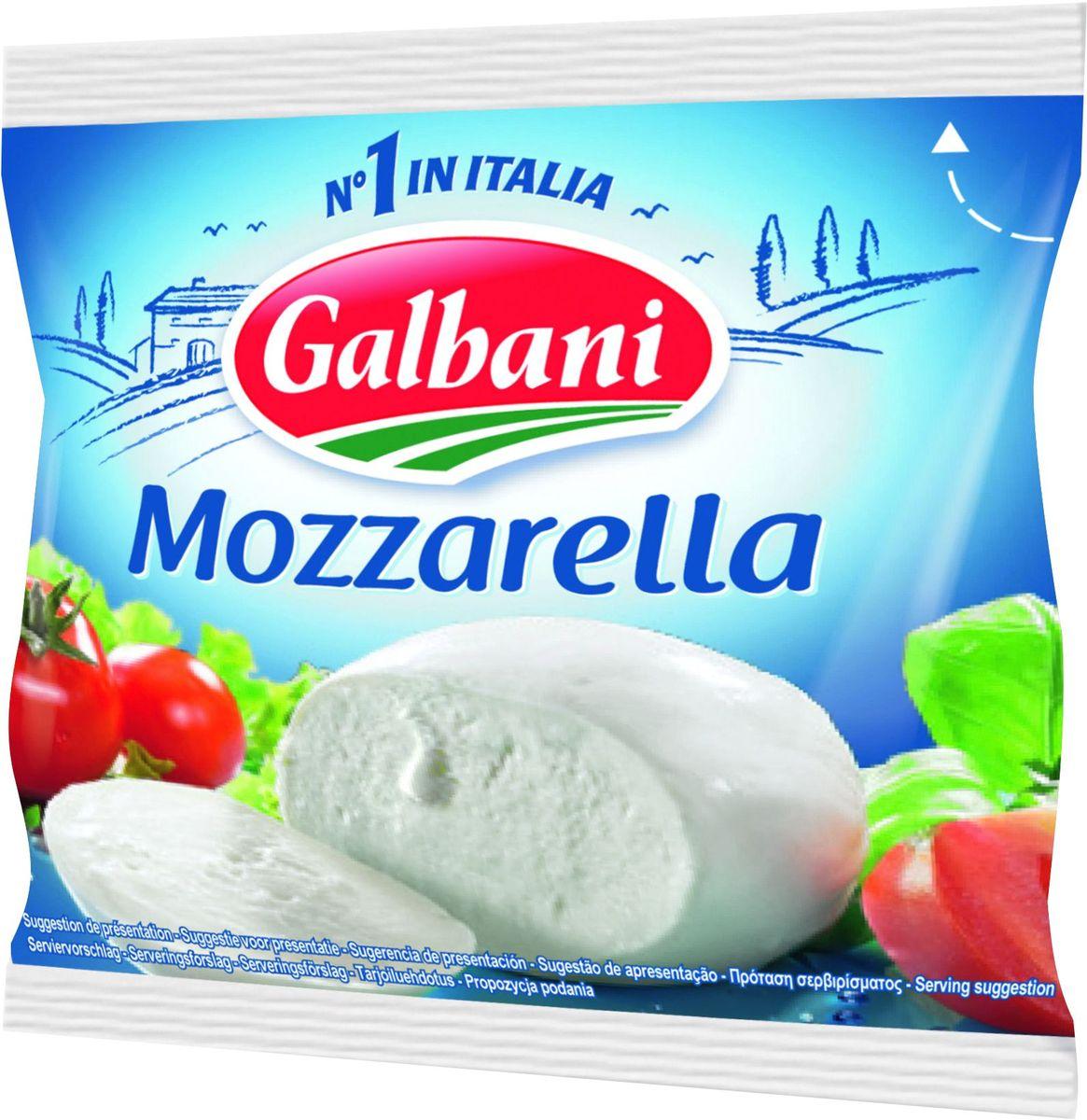 Galbani Сыр Моцарелла 45%, 125 г galbani сыр маскарпоне 80% 250 г