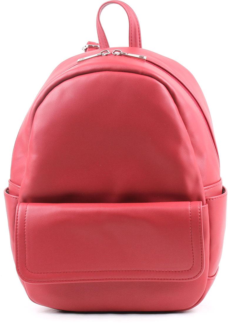 Рюкзак женский Медведково, цвет: темно-красный. 18с0056-к14