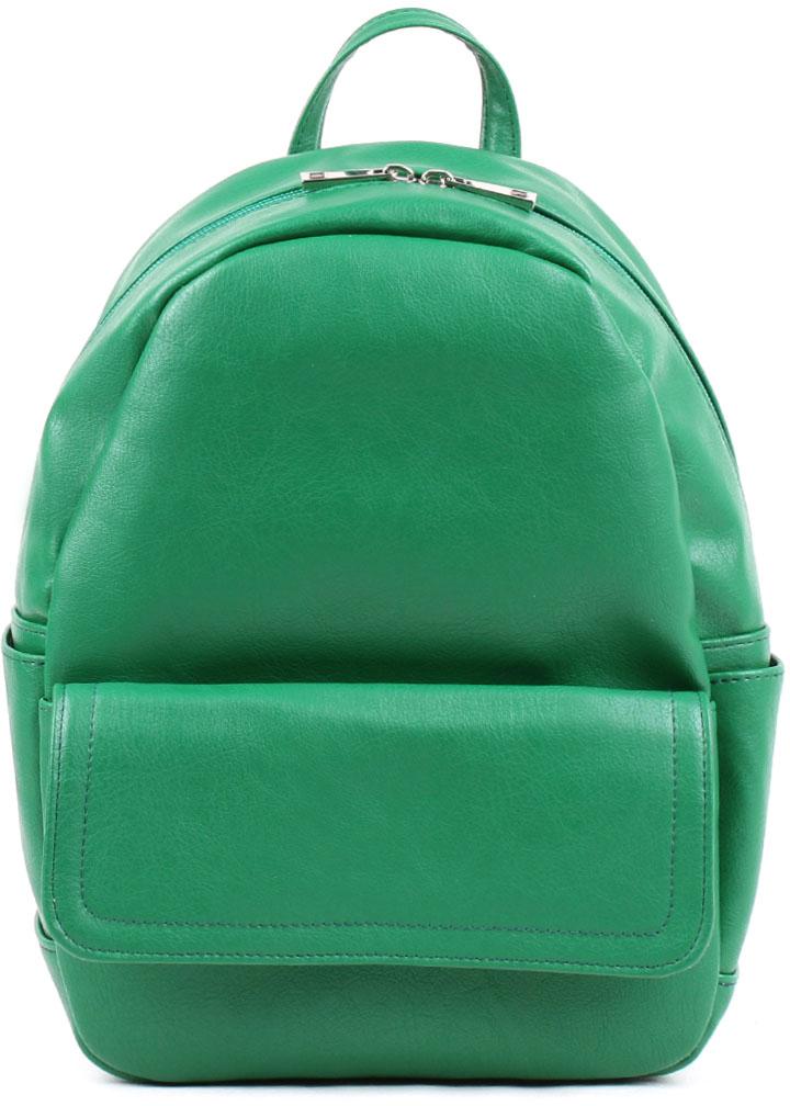 Сумка-рюкзак женская Медведково, цвет: зеленый. 18с0057-к14