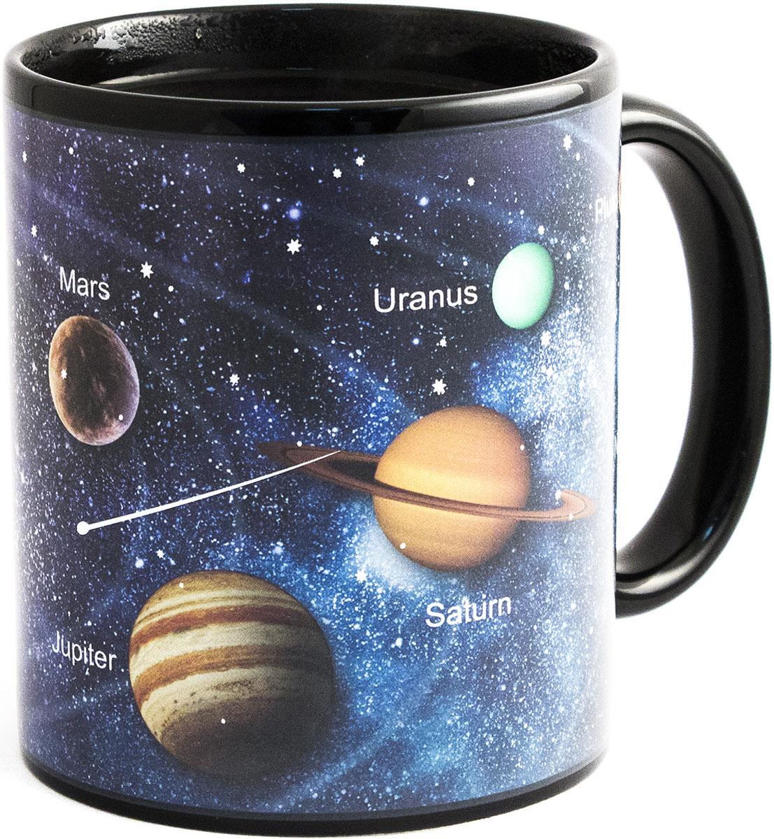 Кружка хамелеон Эврика Звездное небо, 300 мл. 98482 брюки котмаркот штанишки звездное небо