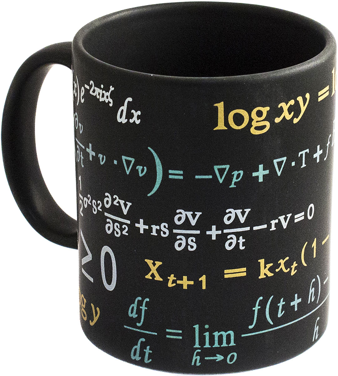 Кружка Эврика Формула Успеха, цвет: черный, 300 мл. 9848798487Кружка для тех, кто не чужд математики и не боится встречаться с формулами каждый день. Забавный подарок студенту, преподавателю, школьнику – их утро может стать добрее, если формулы будут ассоциироваться с чашкой горячего бодрящего напитка.