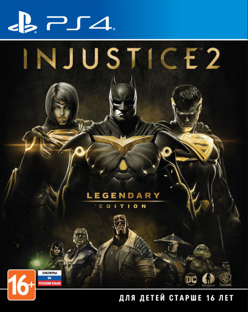 Фото - Injustice 2. Legendary Edition (PS4) injustice gods among us year four vol 2