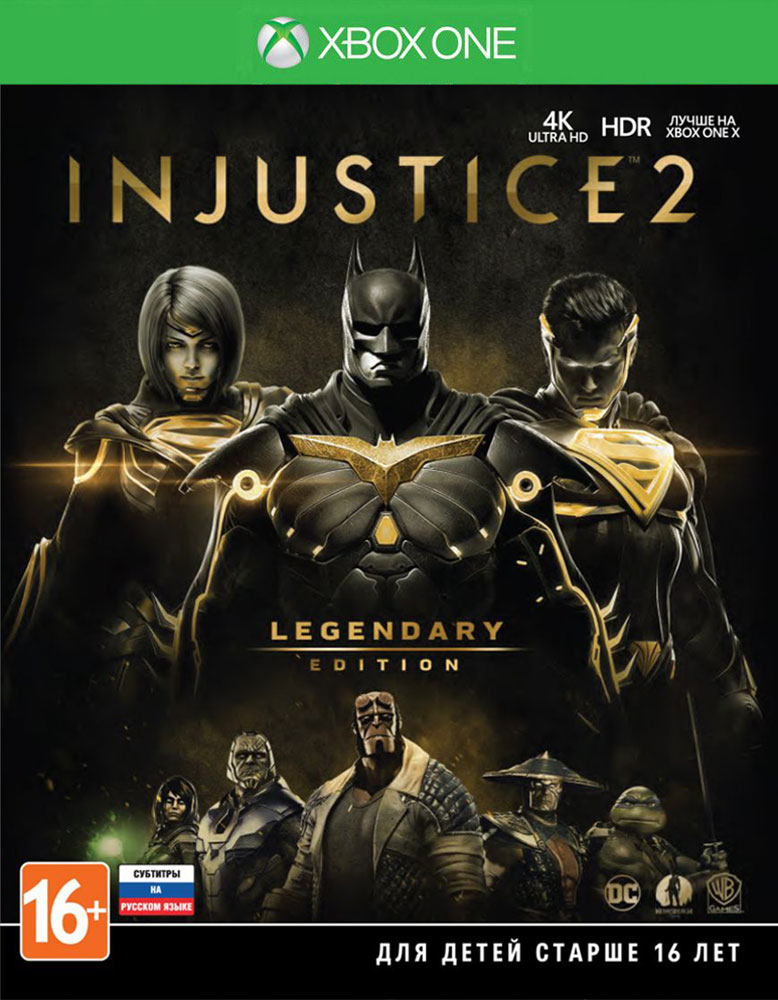 Фото - Injustice 2. Legendary Edition (Xbox One) injustice gods among us year four vol 2