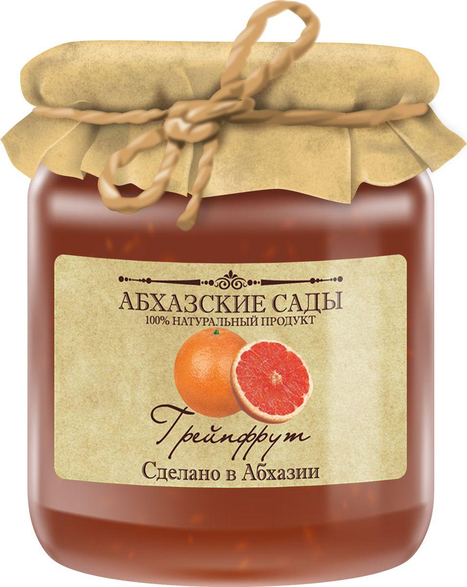 Абхазские сады Джем грейпфрут, 300 г