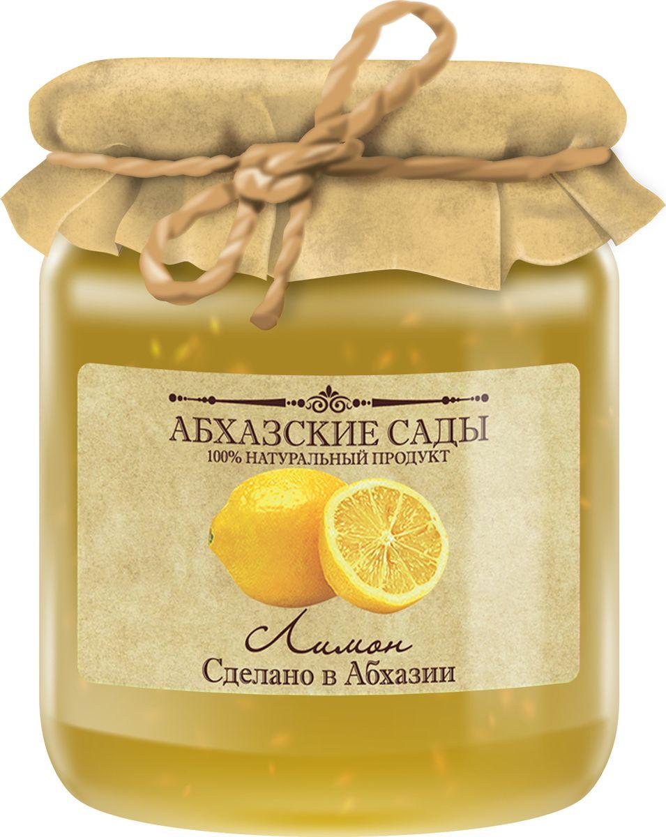 Абхазские сады Джем лимон, 300 г85003Все фрукты поспевают в экологически чистом высокогорье Абхазии. Весь урожай бережно собирается вручную. Фрукты обрабатываются паром сохраняя всю пользу и аромат.